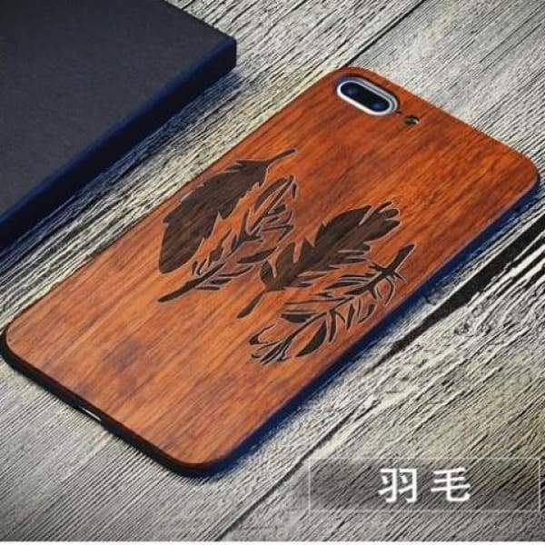 Keep Calm Wooden Case - As Picture 9 / For Iphone 7 8 - Iphone Cases & Bags - Paidcellphone