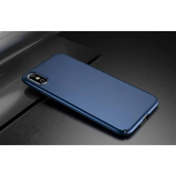 Luxury Cover For Iphone X - Blue / For Iphone X - Iphone Cases & Bags - Paidcellphone