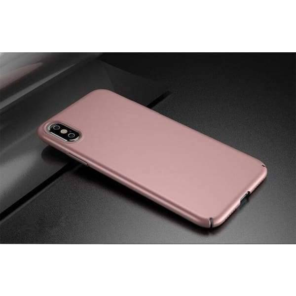 Luxury Cover For Iphone X - Rose Gold / For Iphone X - Iphone Cases & Bags - Paidcellphone
