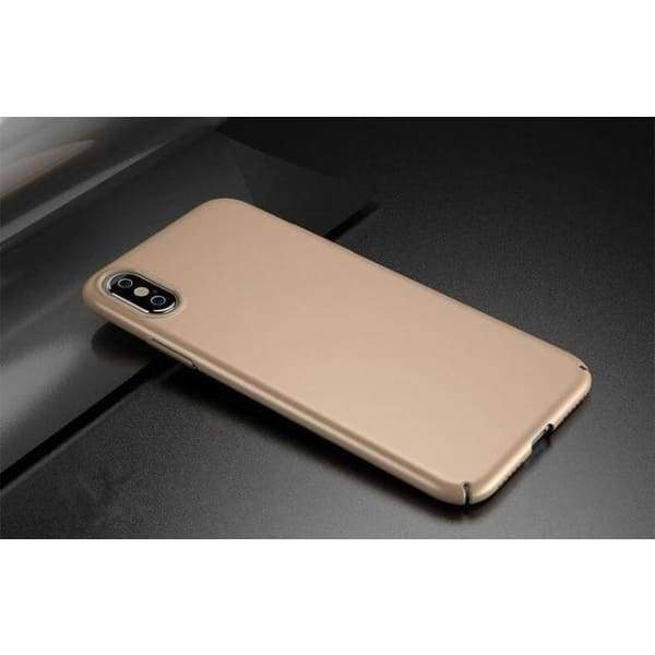 Luxury Cover For Iphone X - Gold / For Iphone X - Iphone Cases & Bags - Paidcellphone