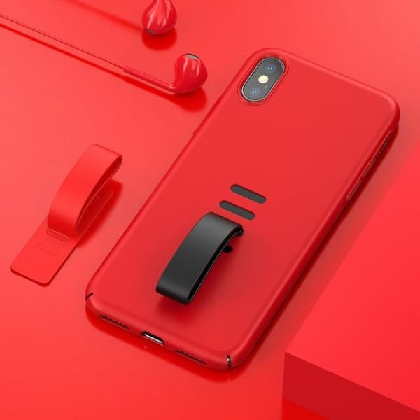 Luxury Phone Case For Iphone X - Red / For Iphone X - Iphone Cases & Bags - Paidcellphone