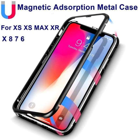 Magnetic Absorption Case For Iphone - Iphone Cases & Bags - Paidcellphone
