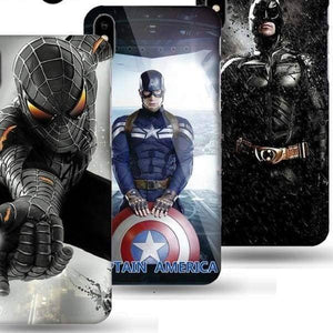 Marvel Captain America Case For Iphone X /7 /8 /6(S) Plus - Iphone Cases & Bags - Paidcellphone