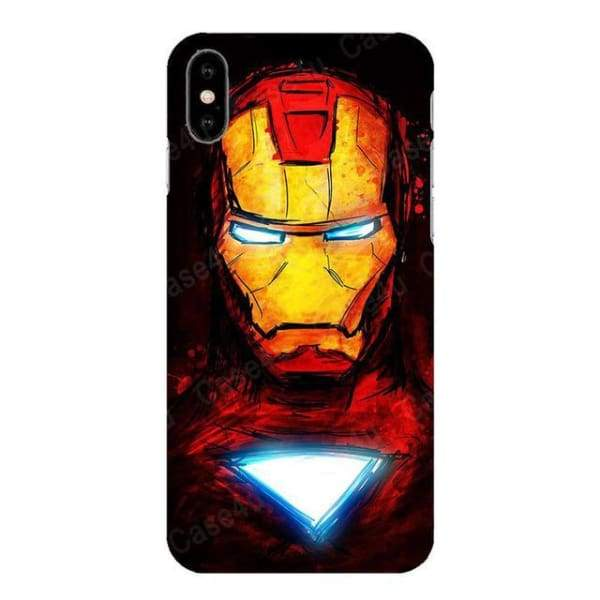 Marvel Captain America Case For Iphone X /7 /8 /6(S) Plus - M03 / For Iphone 6 6S - Iphone Cases & Bags - Paidcellphone