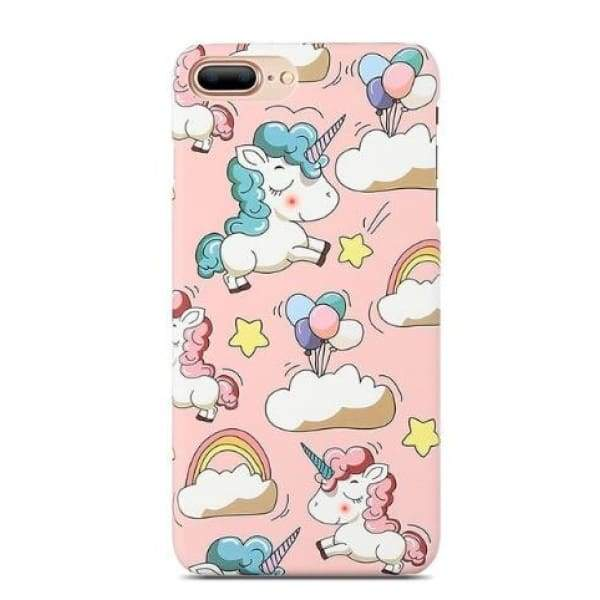 Mermaid Scale Phone For Iphone 7/ 6 /8 - Pink Unicorn / For Iphone 5 5S Se - Iphone Cases & Bags - Paidcellphone