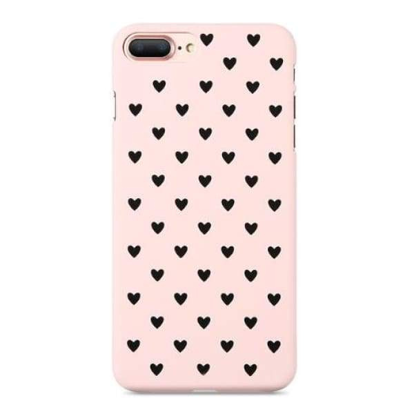 Mermaid Scale Phone For Iphone 7/ 6 /8 - Pink Black / For Iphone 5 5S Se - Iphone Cases & Bags - Paidcellphone