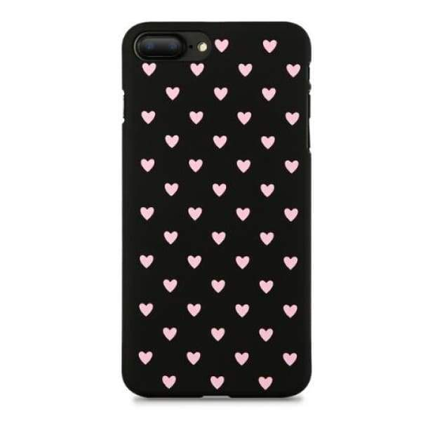 Mermaid Scale Phone For Iphone 7/ 6 /8 - Black Pink / For Iphone 5 5S Se - Iphone Cases & Bags - Paidcellphone