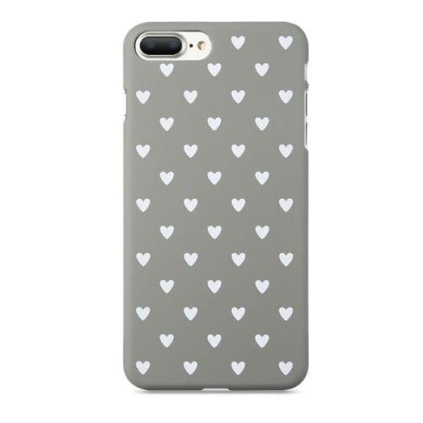 Mermaid Scale Phone For Iphone 7/ 6 /8 - Gray White / For Iphone 5 5S Se - Iphone Cases & Bags - Paidcellphone