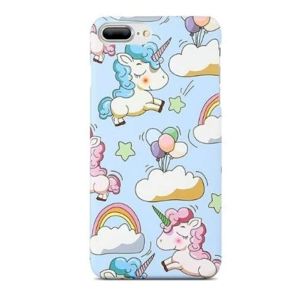 Mermaid Scale Phone For Iphone 7/ 6 /8 - Blue Unicorn / For Iphone 5 5S Se - Iphone Cases & Bags - Paidcellphone