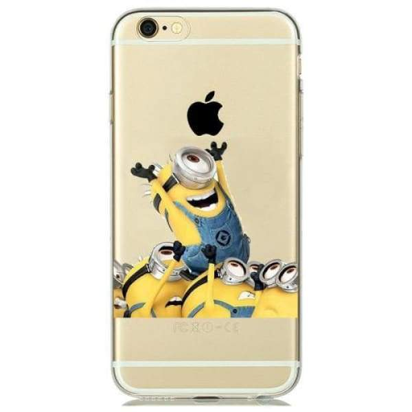 Minion Case Iphone 8 /7 /6 /6S /5 /5S /se - M2 / For Iphone 5 5S Se - Iphone Cases & Bags - Paidcellphone