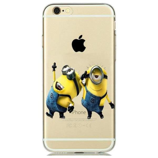 Minion Case Iphone 8 /7 /6 /6S /5 /5S /se - M5 / For Iphone 5 5S Se - Iphone Cases & Bags - Paidcellphone