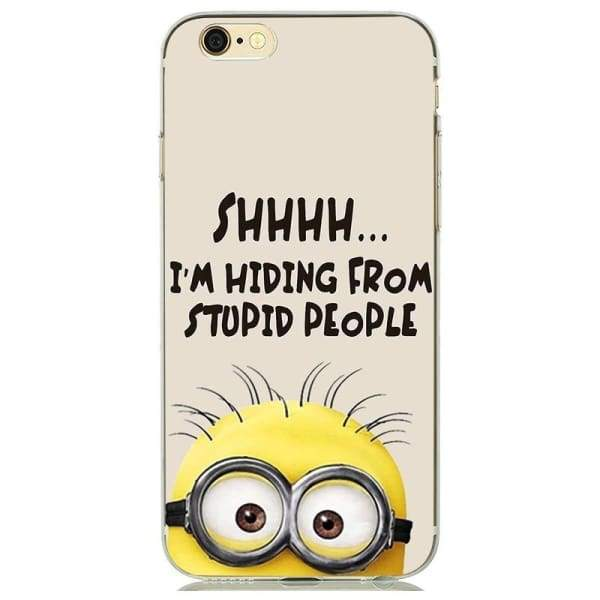 Minion Case Iphone 8 /7 /6 /6S /5 /5S /se - Iphone Cases & Bags - Paidcellphone