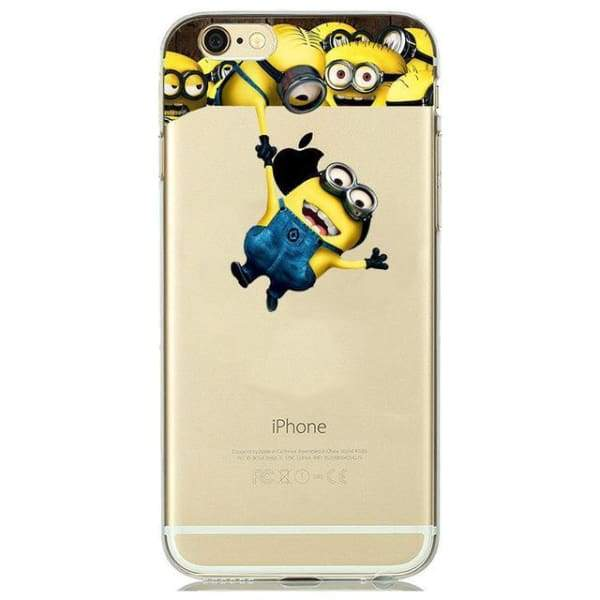 Minion Case Iphone 8 /7 /6 /6S /5 /5S /se - M6 / For Iphone 5 5S Se - Iphone Cases & Bags - Paidcellphone