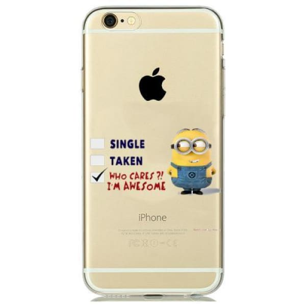 Minion Case Iphone 8 /7 /6 /6S /5 /5S /se - M11 / For Iphone 5 5S Se - Iphone Cases & Bags - Paidcellphone