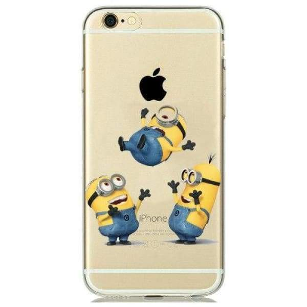 Minion Case Iphone 8 /7 /6 /6S /5 /5S /se - M1 / For Iphone 5 5S Se - Iphone Cases & Bags - Paidcellphone