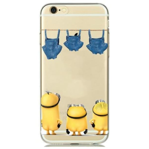 Minion Case Iphone 8 /7 /6 /6S /5 /5S /se - M3 / For Iphone 5 5S Se - Iphone Cases & Bags - Paidcellphone