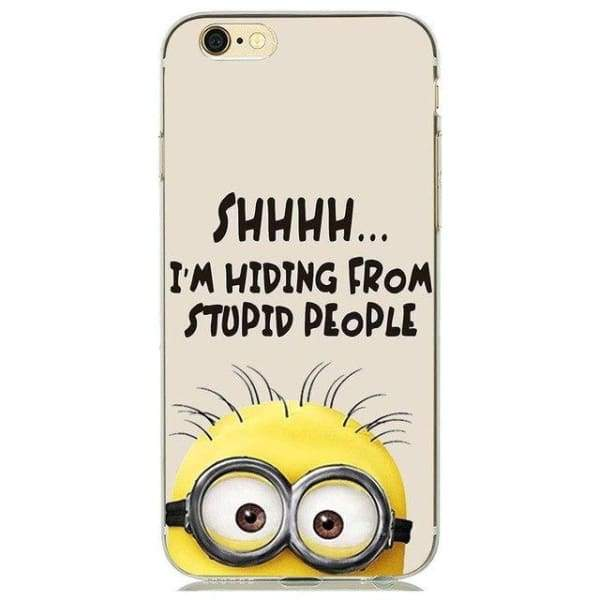 Minion Case Iphone 8 /7 /6 /6S /5 /5S /se - M10 / For Iphone 5 5S Se - Iphone Cases & Bags - Paidcellphone