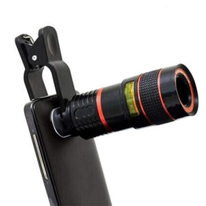 Phone Lens Scope - Selfie Stick - Paidcellphone