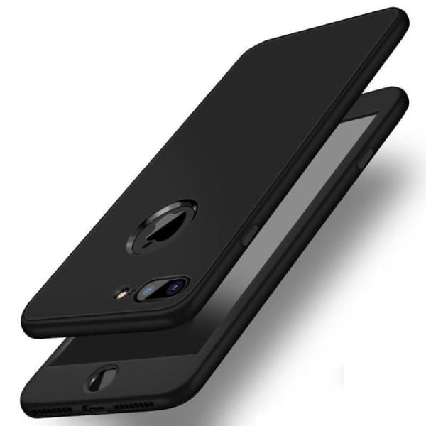 Plain Dirt-Resistant Cases For Iphone 7/ 7 Plus With Deign Matte - Iphone Cases & Bags - Paidcellphone