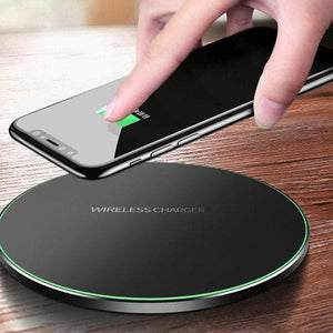 Qi Wireless Charger For Iphone 8 /x /xr /xs Max - Chargers & Cables - Paidcellphone