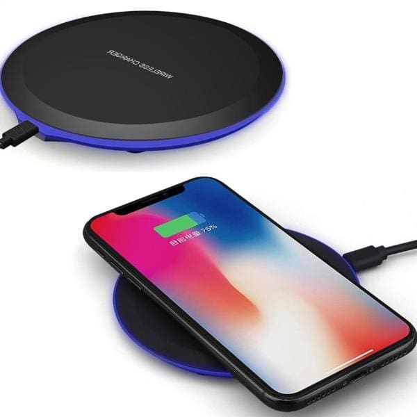 Qi Wireless Charger For Iphone X /8 /xs Max /xr - Chargers & Cables - Paidcellphone
