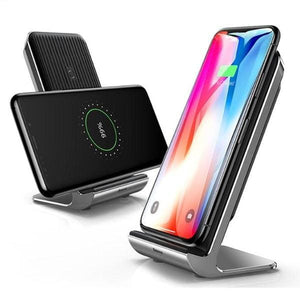 Qi Wireless Charger For Iphone X /xs Max /xr - Chargers & Cables - Paidcellphone