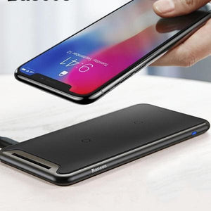 Qi Wireless Charger For Iphone Xs Max /xr - Chargers & Cables - Paidcellphone