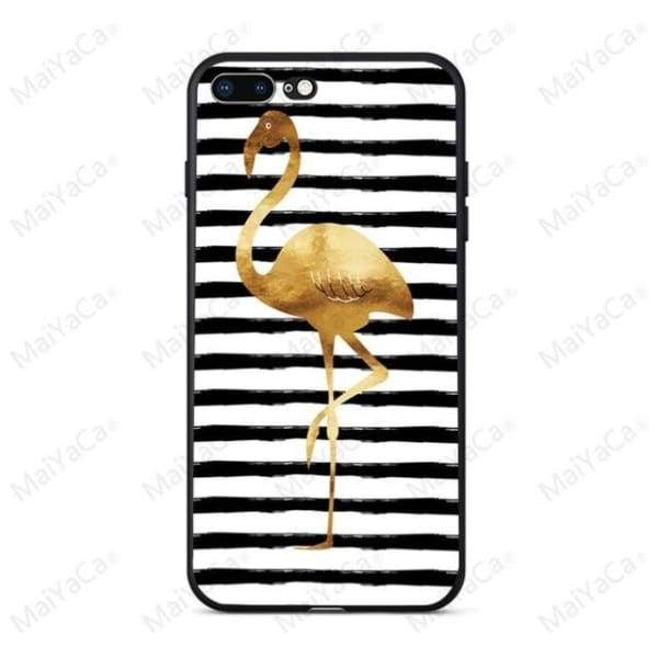 Rabbit | Flamingo | Giraffe | Elephant Iphone Cover For Iphone 5 /5S /5 Se /6S /7 /8 - 1 / For Iphone 5 5S - Iphone Cases & Bags -