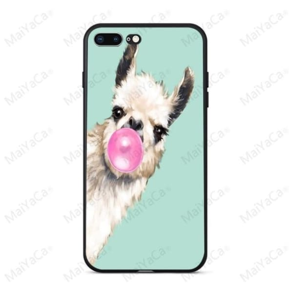 Rabbit | Flamingo | Giraffe | Elephant Iphone Cover For Iphone 5 /5S /5 Se /6S /7 /8 - 9 / For Iphone 5 5S - Iphone Cases & Bags -