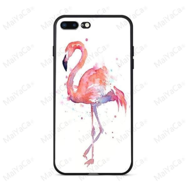 Rabbit | Flamingo | Giraffe | Elephant Iphone Cover For Iphone 5 /5S /5 Se /6S /7 /8 - 2 / For Iphone 5 5S - Iphone Cases & Bags -