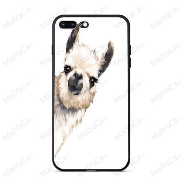 Rabbit | Flamingo | Giraffe | Elephant Iphone Cover For Iphone 5 /5S /5 Se /6S /7 /8 - 7 / For Iphone 5 5S - Iphone Cases & Bags -