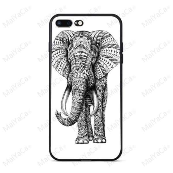 Rabbit | Flamingo | Giraffe | Elephant Iphone Cover For Iphone 5 /5S /5 Se /6S /7 /8 - 5 / For Iphone 5 5S - Iphone Cases & Bags -