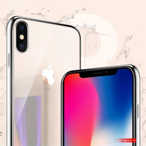 Silicon Cover Plating Case For Iphone X 7/8 Plus - Iphone Cases & Bags - Paidcellphone