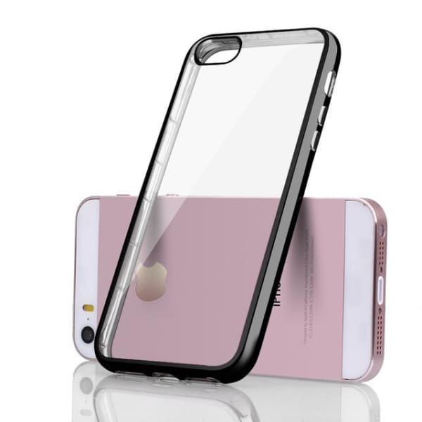Silicone Case For Iphone 5 /5S /se - Black / For Iphone 8 - Iphone Cases & Bags - Paidcellphone