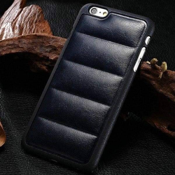 Sofa Style Case For Iphone 6 /6(S) Plus - Navy Blue - Iphone Cases & Bags - Paidcellphone