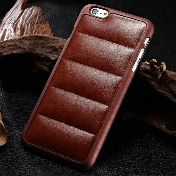 Sofa Style Case For Iphone 6 /6(S) Plus - Brown - Iphone Cases & Bags - Paidcellphone