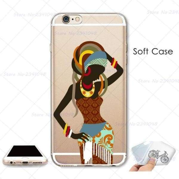 South Africa Woman Iphone Case For Iphone 4S /5S Se /6 /6S /6Plus /7 /7Plus /8 8Plus /x - B3756 / For Iphone 7 - Iphone Cases & Bags -