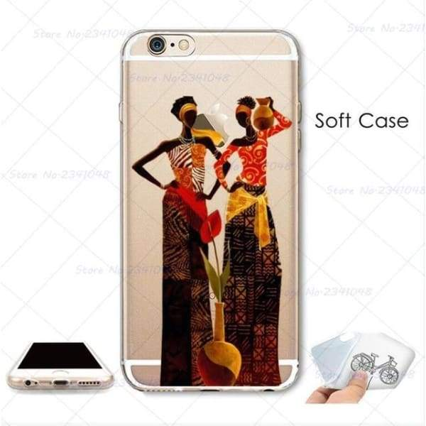 South Africa Woman Iphone Case For Iphone 4S /5S Se /6 /6S /6Plus /7 /7Plus /8 8Plus /x - B3749 / For Iphone 7 - Iphone Cases & Bags -