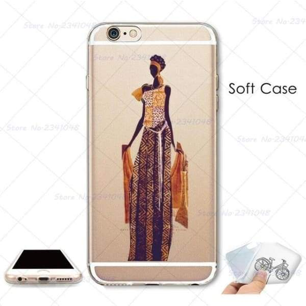 South Africa Woman Iphone Case For Iphone 4S /5S Se /6 /6S /6Plus /7 /7Plus /8 8Plus /x - B3750 / For Iphone 7 - Iphone Cases & Bags -