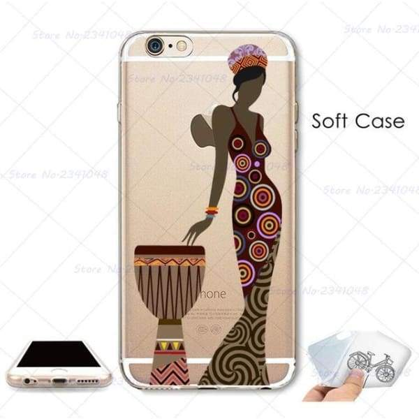 South Africa Woman Iphone Case For Iphone 4S /5S Se /6 /6S /6Plus /7 /7Plus /8 8Plus /x - B3766 / For Iphone 7 - Iphone Cases & Bags -