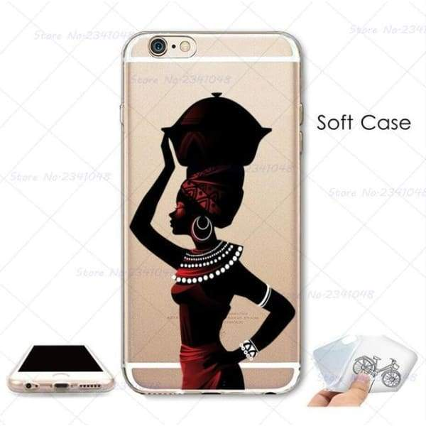 South Africa Woman Iphone Case For Iphone 4S /5S Se /6 /6S /6Plus /7 /7Plus /8 8Plus /x - B3759 / For Iphone 7 - Iphone Cases & Bags -