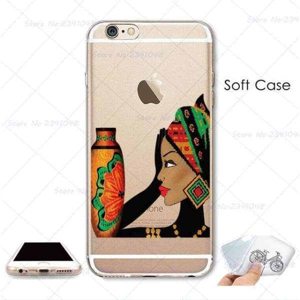 South Africa Woman Iphone Case For Iphone 4S /5S Se /6 /6S /6Plus /7 /7Plus /8 8Plus /x - B3740 / For Iphone 7 - Iphone Cases & Bags -
