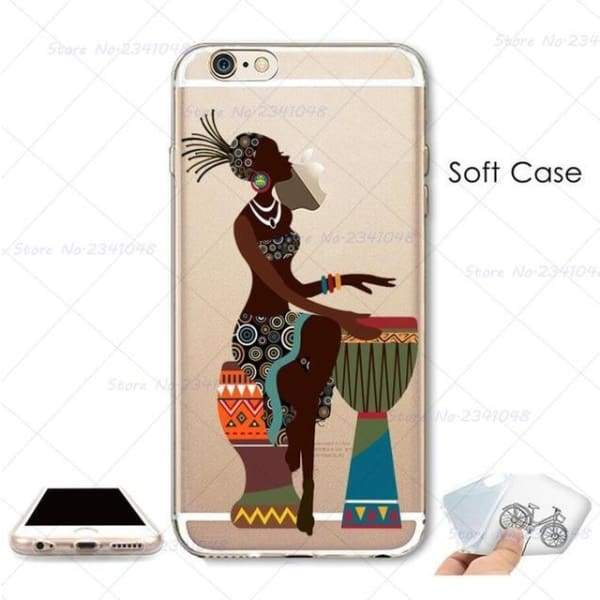 South Africa Woman Iphone Case For Iphone 4S /5S Se /6 /6S /6Plus /7 /7Plus /8 8Plus /x - B3767 / For Iphone 7 - Iphone Cases & Bags -