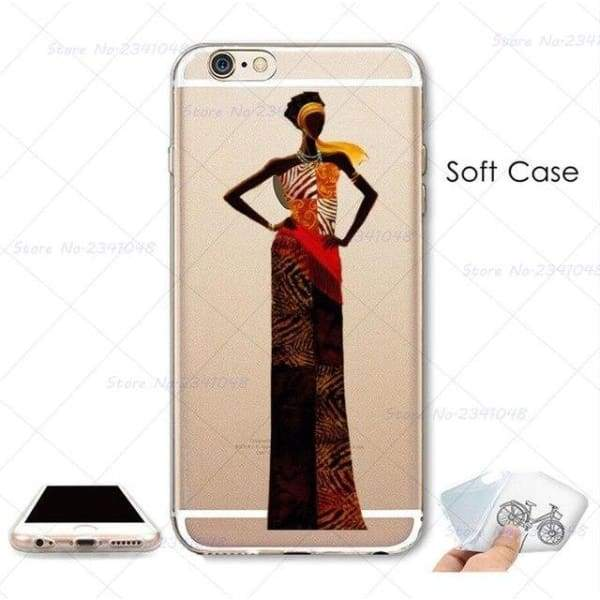 South Africa Woman Iphone Case For Iphone 4S /5S Se /6 /6S /6Plus /7 /7Plus /8 8Plus /x - B3747 / For Iphone 7 - Iphone Cases & Bags -