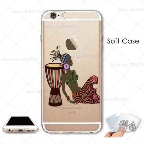 South Africa Woman Iphone Case For Iphone 4S /5S Se /6 /6S /6Plus /7 /7Plus /8 8Plus /x - B3757 / For Iphone 7 - Iphone Cases & Bags -