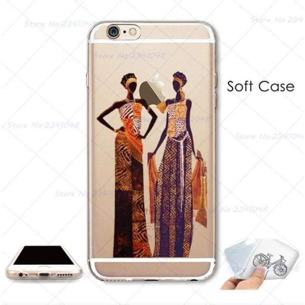 South Africa Woman Iphone Case For Iphone 4S /5S Se /6 /6S /6Plus /7 /7Plus /8 8Plus /x - Iphone Cases & Bags - Paidcellphone