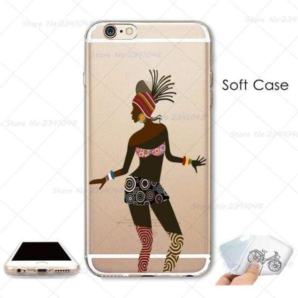 South Africa Woman Iphone Case For Iphone 4S /5S Se /6 /6S /6Plus /7 /7Plus /8 8Plus /x - B3758 / For Iphone 7 - Iphone Cases & Bags -