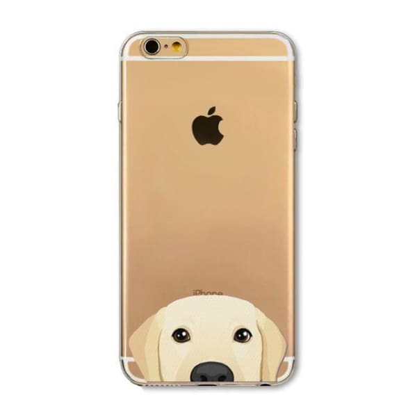 Super Cute Dog-Cat Phone Cases For Iphone 6 6S - 6D / For Iphone 6 6S - Iphone Cases & Bags - Paidcellphone
