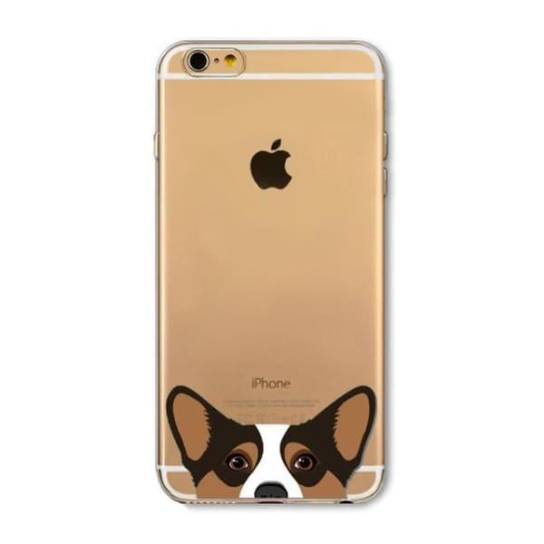 Super Cute Dog-Cat Phone Cases For Iphone 6 6S - 4D / For Iphone 6 6S - Iphone Cases & Bags - Paidcellphone