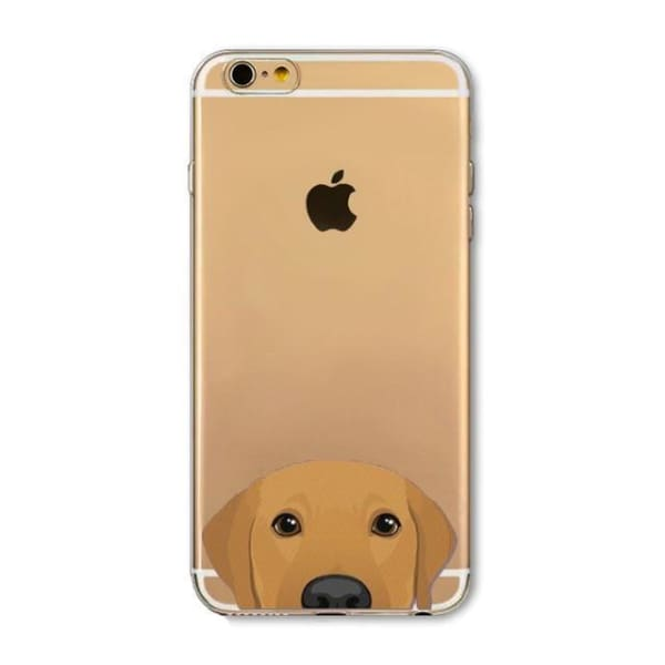 Super Cute Dog-Cat Phone Cases For Iphone 6 6S - 5D / For Iphone 6 6S - Iphone Cases & Bags - Paidcellphone